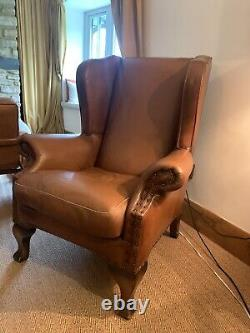 Beautiful Compton Fireside Wingback Arm Chair Very Good Condition