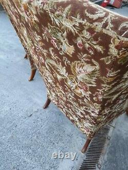 Beautiful Pair of Parker Knoll Wingback Fireside Chairs Chair PK 720 Mk 3
