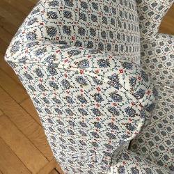 Edwardian Wingback Nursing Fireside Armchair Country House Arm Chair
