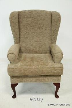 HSL Buckingham Wing Back Fireside Armchair Very Clean FREE Nationwide Delivery