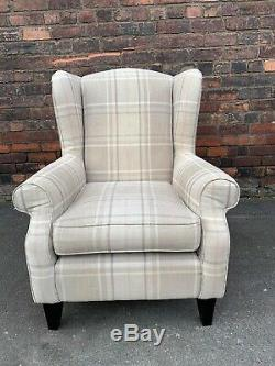 Next Sherlock Armchair Fireside Wingback Chair Excellent Condition