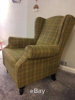 Next Sherlock Armchair Fireside Wingback Chair Good Condition