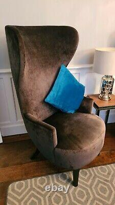 Unique High Back Fire Side Wing Back Chair
