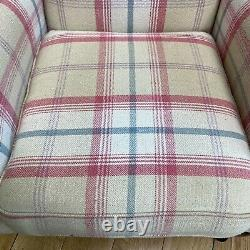 Vintage Armchair / Wingback Armchair / Fireside Chair / Upholstered Lounge Chair