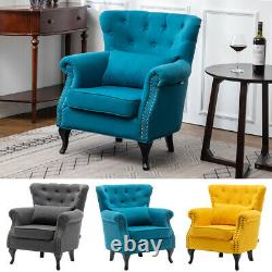 Wing High Back Occasional Fireside Lounge Tub Sofa Chair Accent Armchair Sofa UK